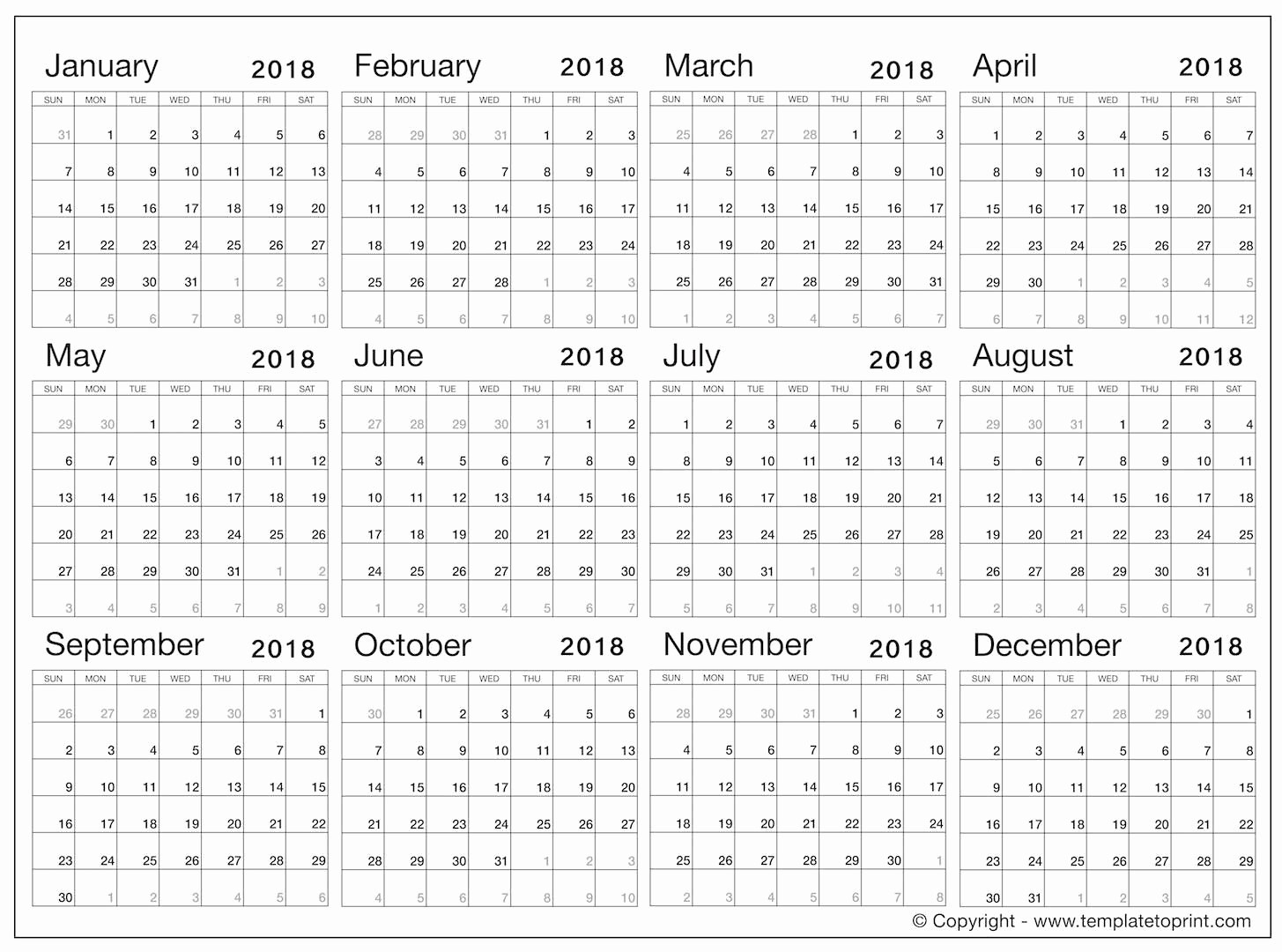 Calendar that I Can Edit Fresh 2018 Calendar Template Word 2018 Calendar Template to Edit