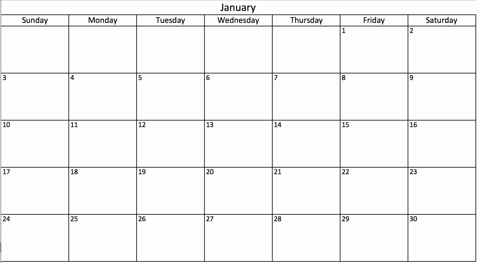 Calendar that I Can Edit Fresh Make A 2018 Calendar In Excel Includes Free Template