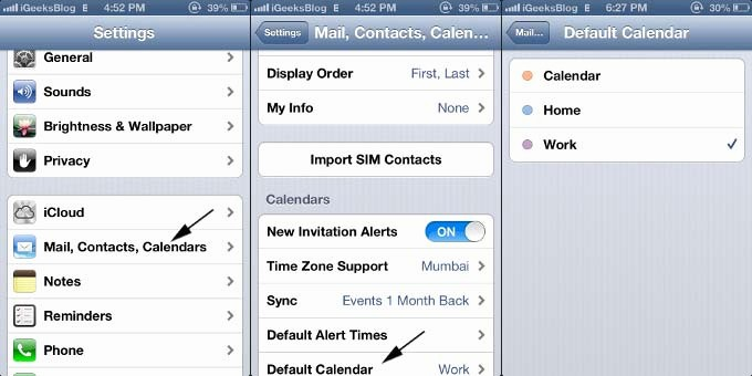 Calendar that I Can Edit Inspirational How to Change Default Calendar On the iPhone and Ipad