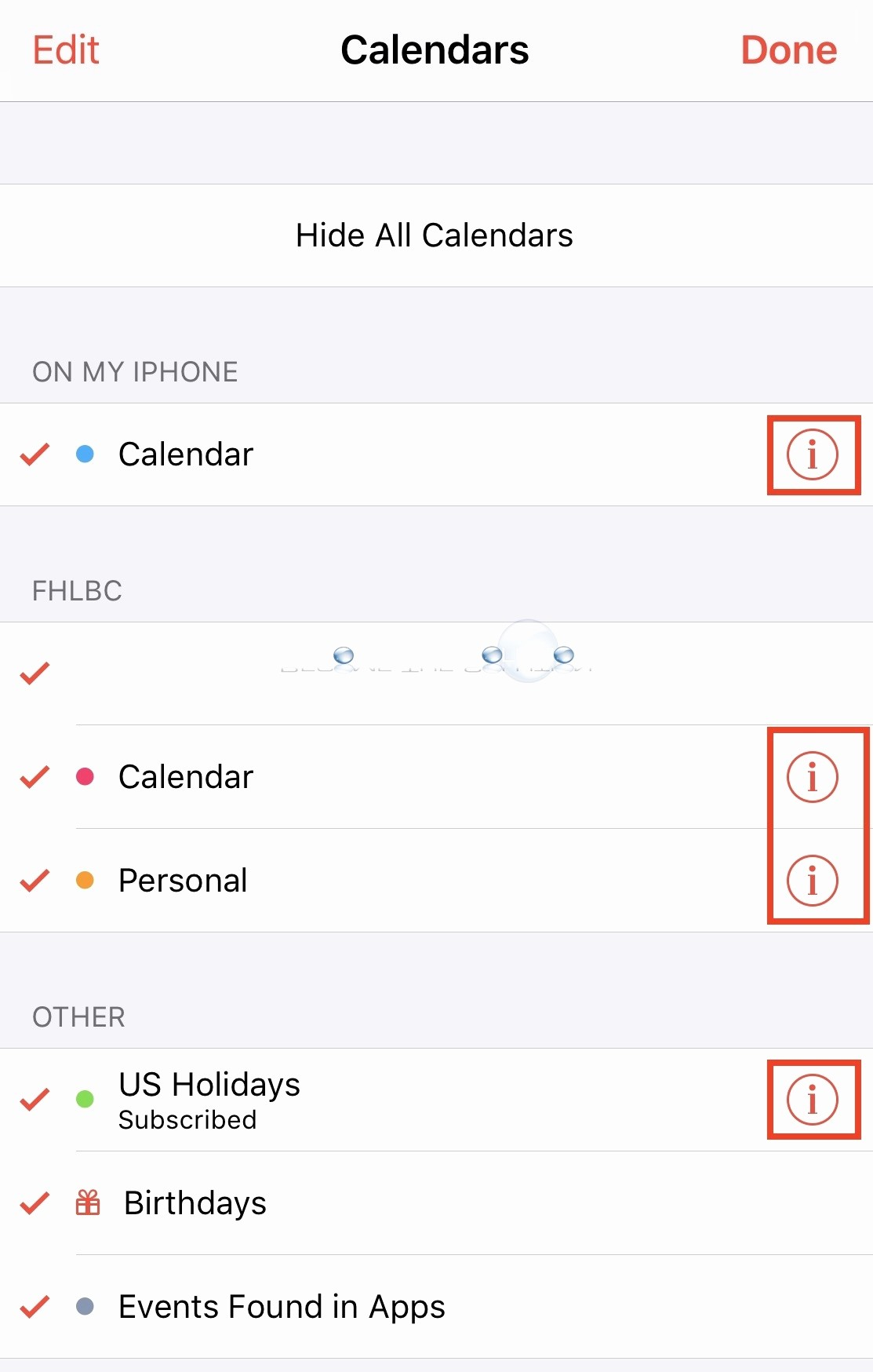 Calendar that I Can Edit Lovely How to iPhone Change Calendar Color