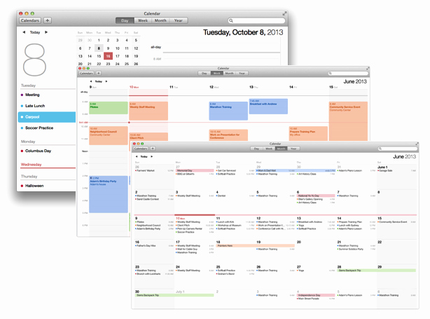 Calendar that I Can Edit Lovely Mac Basics Calendar Keeps Your Appointments Apple Support