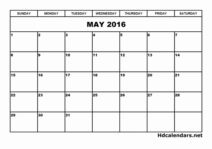 Calendar that I Can Edit New Free Download Calendars You Can Edit 2016