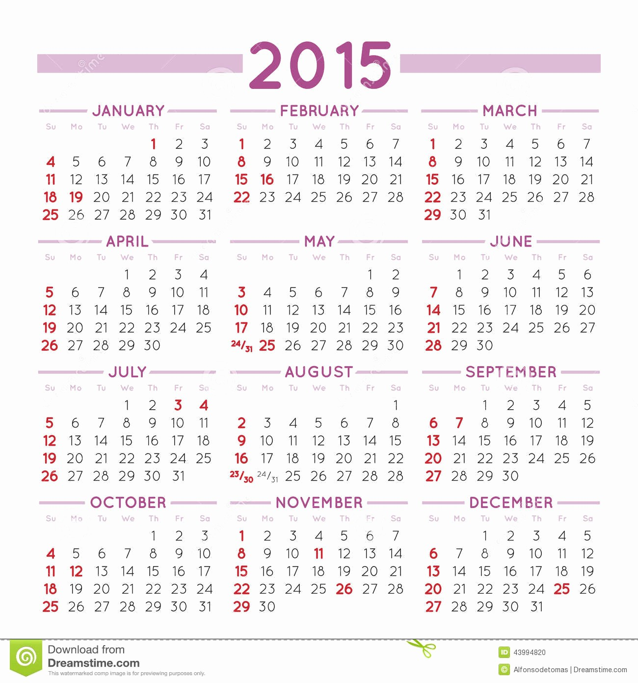 Calendar that I Can Edit Unique 2015 Squared Calendar Usa Stock Vector Image Of Thursday