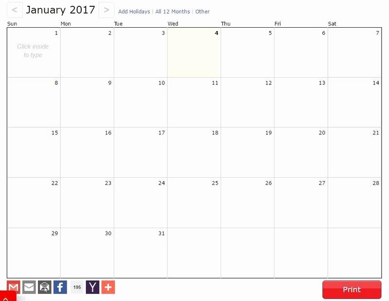Calendario Anual 2017 Para Imprimir Best Of 3 Páginas Gratis Para Generar Tu Calendario 2017 Para Imprimir