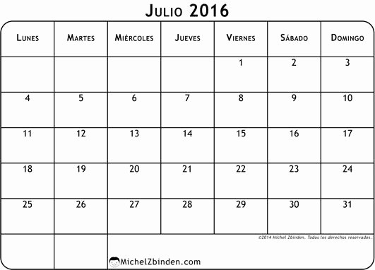 Calendario Diciembre 2017 Para Imprimir Awesome Calendario Julio 2016 Con Notas Para Imprimir