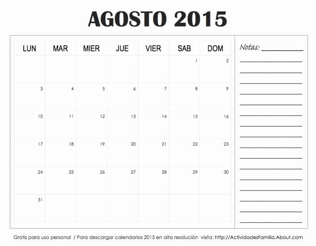 Calendario Diciembre 2017 Para Imprimir Awesome Descarga E Imprime Gratis Calendarios 2015 Con Espacio
