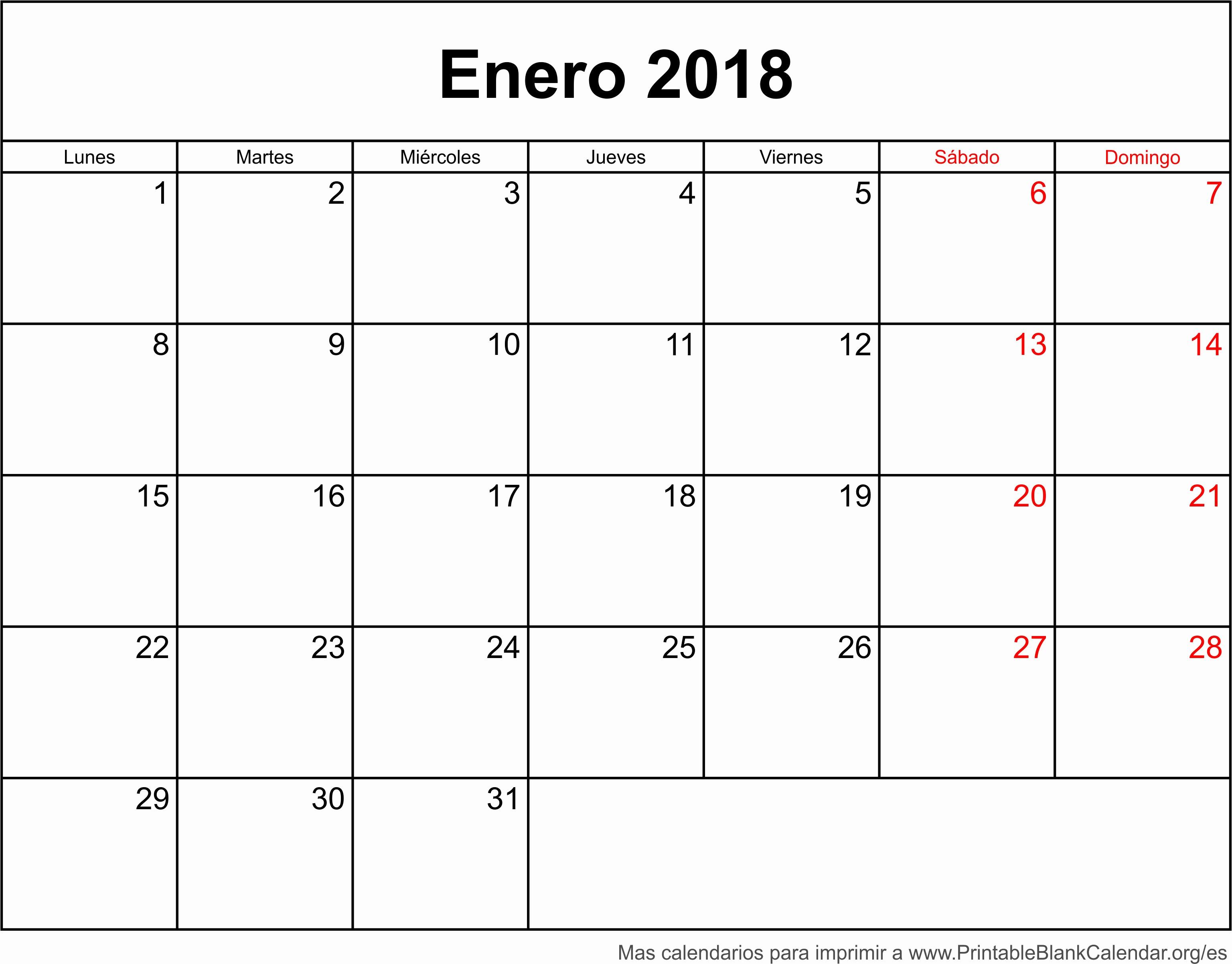 Calendario Diciembre 2017 Para Imprimir Awesome Enero Calendario 2018 Related Keywords Enero Calendario