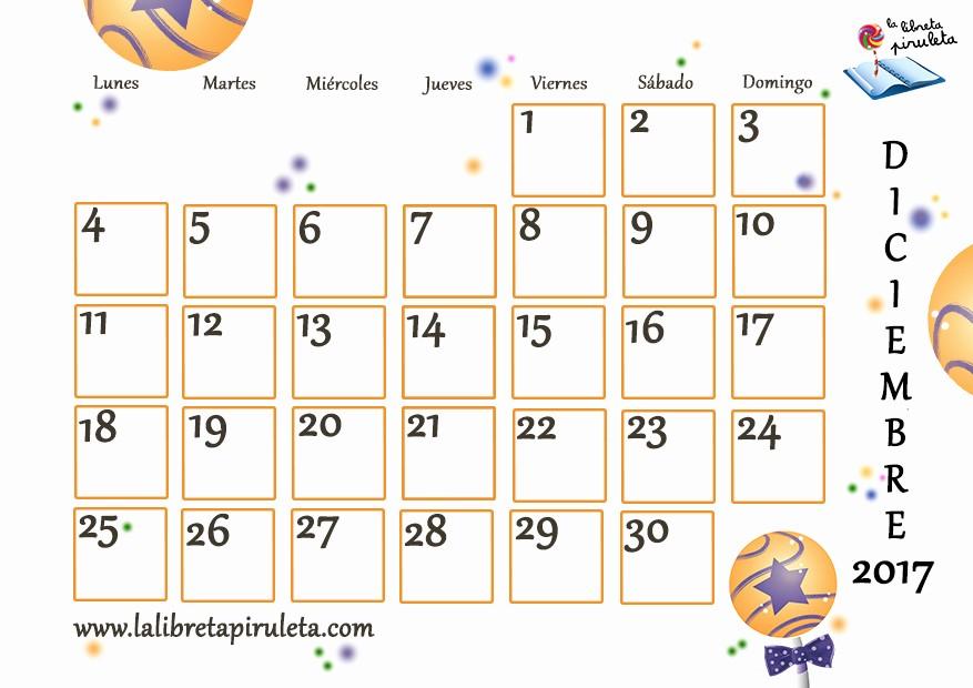 Calendario Diciembre 2017 Para Imprimir Inspirational Diciembre Calendario 2017 Related Keywords Diciembre