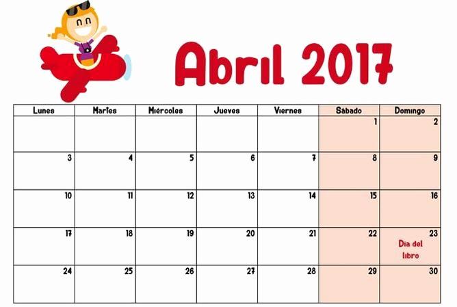 Calendario Diciembre 2017 Para Imprimir Lovely April 2017 Calendar Usa Print Calendar and