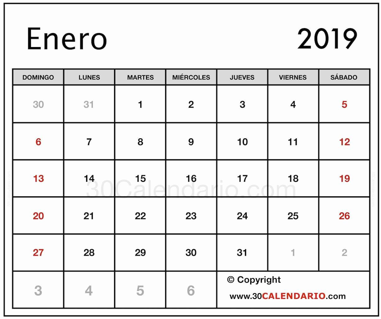 Calendario Febrero 2018 Para Imprimir Beautiful Calendario 2019 Argentina Para Imprimir
