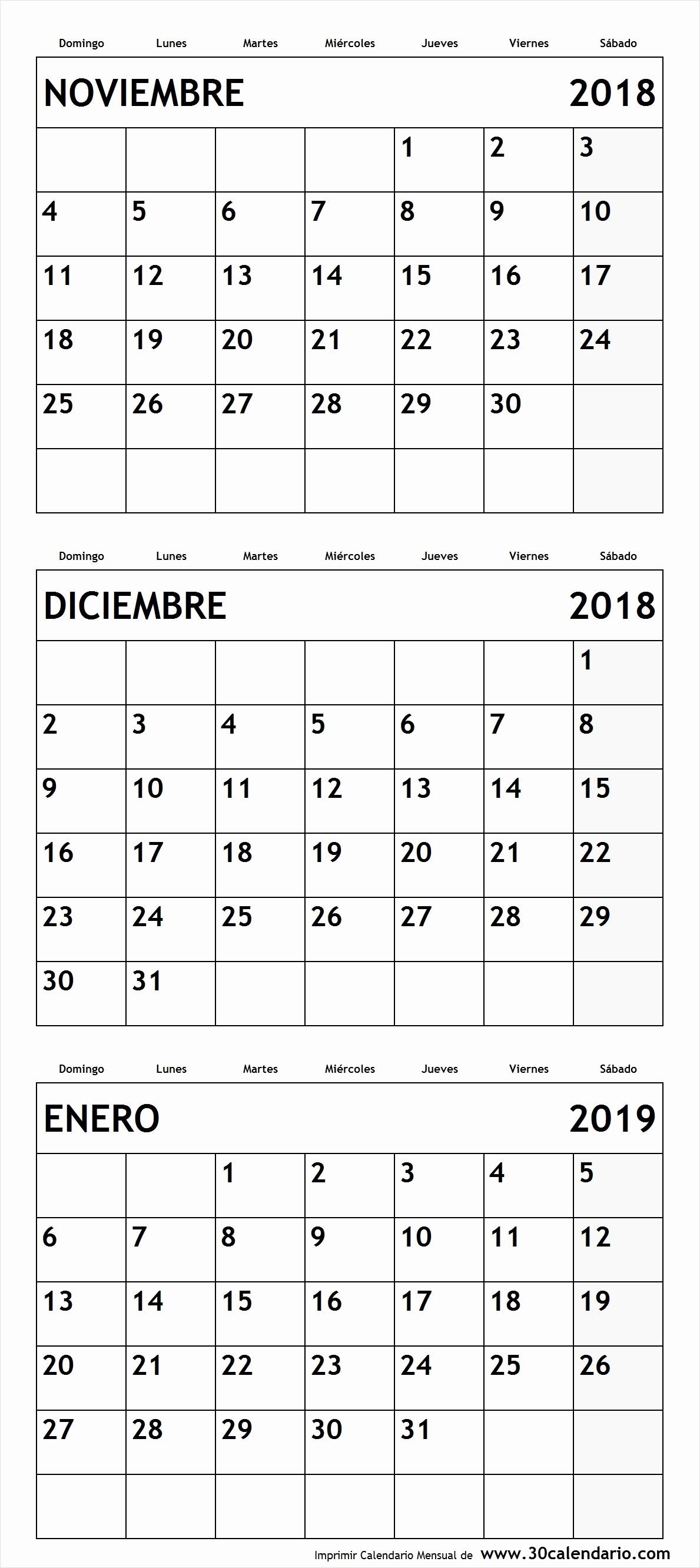 Calendario Febrero 2018 Para Imprimir Fresh Calendario 2019 Colombia Para Imprimir Febrero Car