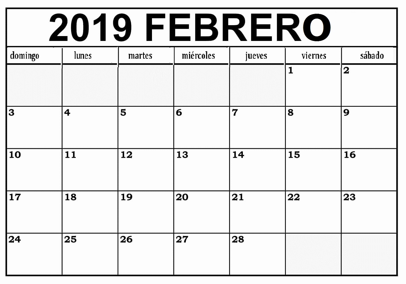 Calendario Febrero 2018 Para Imprimir Lovely Calendario Mesa Febrero 2019 Para Imprimir – Best Reviews 2019