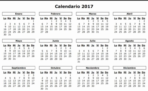 Calendario Juliano 2017 Para Imprimir Awesome Calendarios 2017 Y 2018 – Calendario Puro Pelo 2017