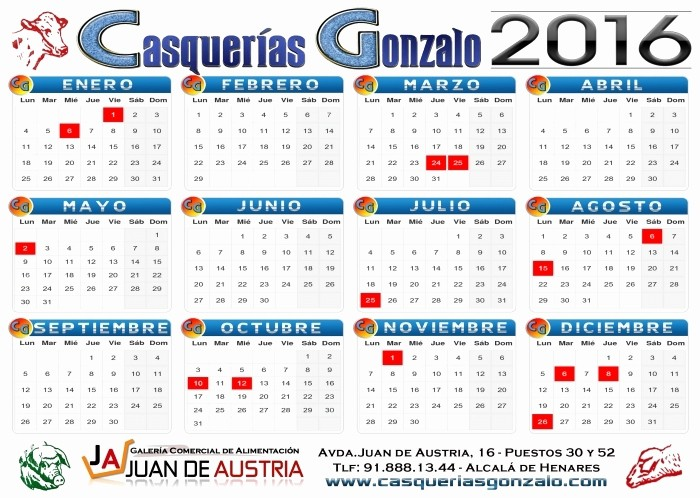 Calendario Juliano 2017 Para Imprimir Fresh Calendario Juliano 2016 Para Imprimir