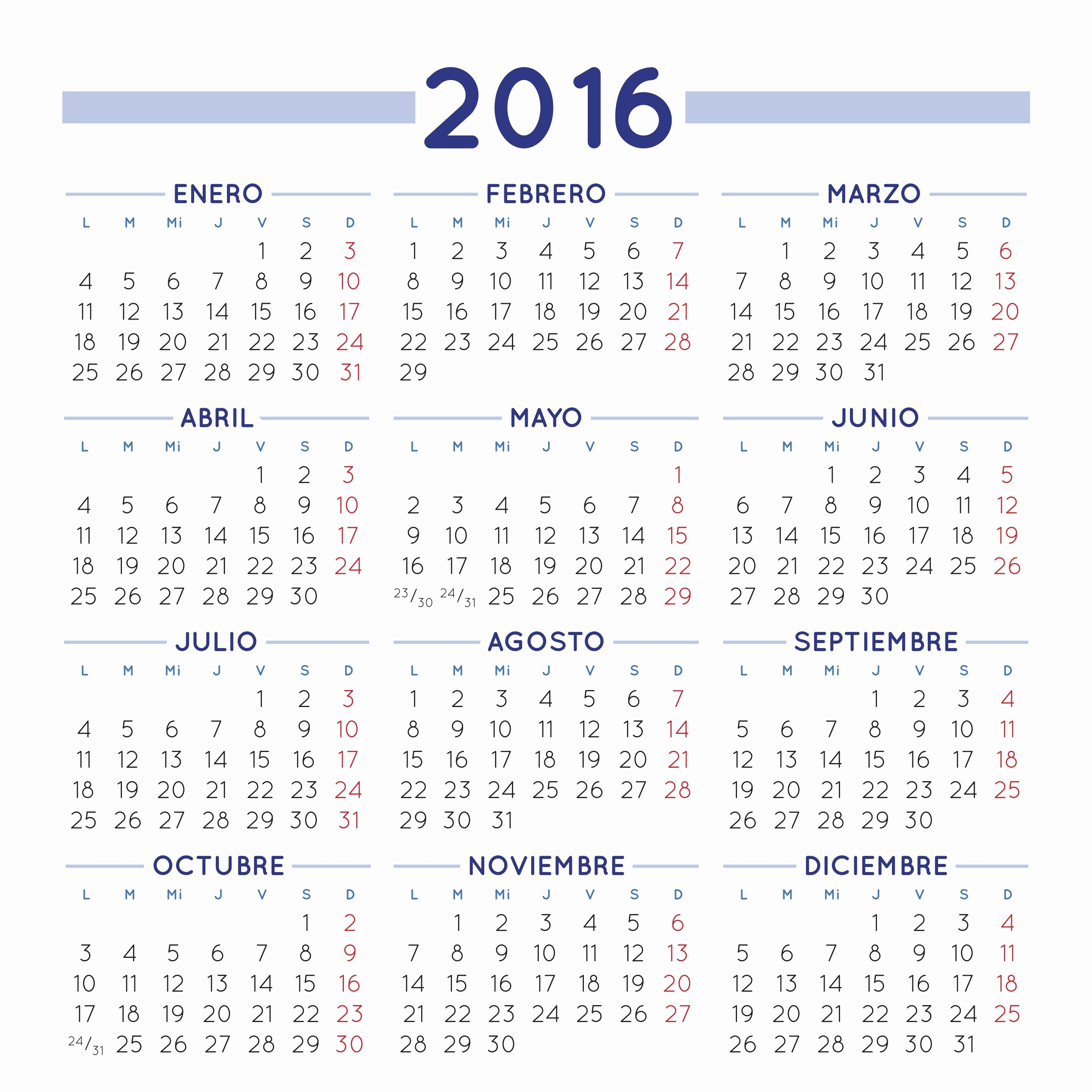 Calendario Juliano 2017 Para Imprimir Lovely Calendario 2016 Imagenes Educativas