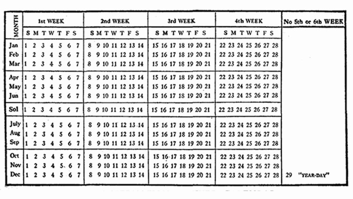 Calendario Juliano 2017 Para Imprimir Luxury Un Calendario Con 13 Meses Marcianos