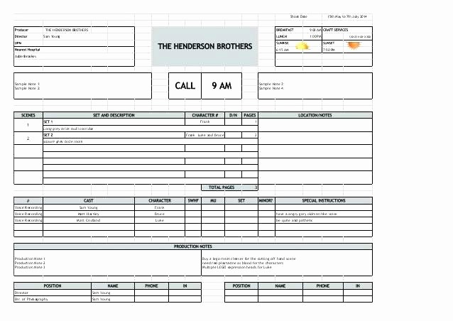 Call Sheets for Sales Reps New Sheet Sales Call Sheets Template Excel Tracking Daily