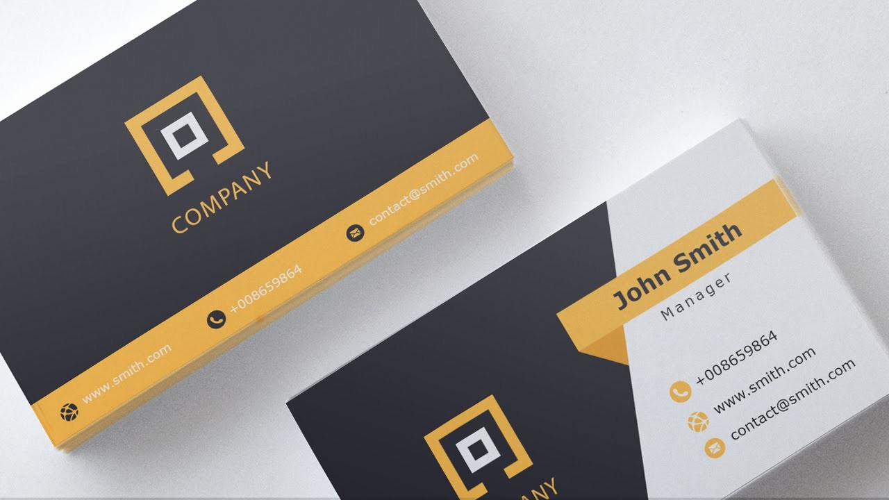 Calling Card Template Free Download Awesome Business Card Template Free Download 1
