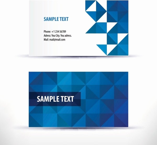 Calling Card Template Free Download Beautiful Business Card Template Free Vector