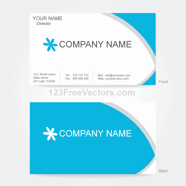Calling Card Template Free Download Beautiful Free Vector Business Card Design Template Psd Files
