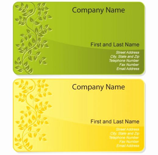 Calling Card Template Free Download Best Of 12 Business Card Design Templates Free Business