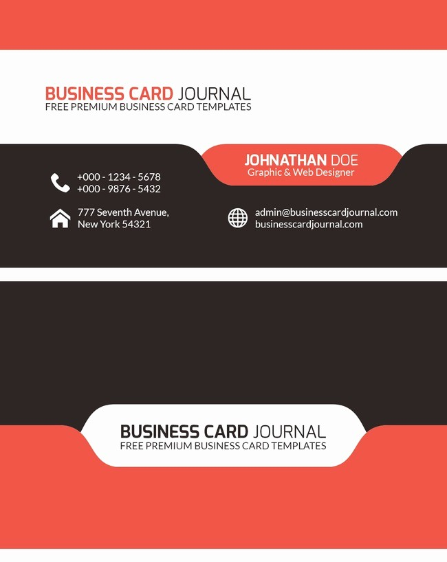 Calling Card Template Free Download Best Of Business Card Business Card Template Business Cards Png