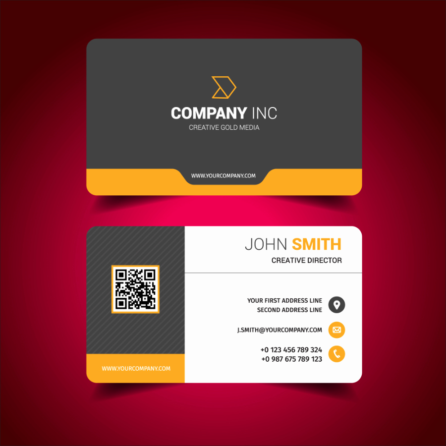 Calling Card Template Free Download Elegant Download Modern Business Card Design Template Free