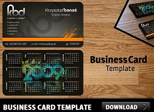Calling Card Template Free Download Fresh Free Business Card Template Psd Free Psd In Shop Psd