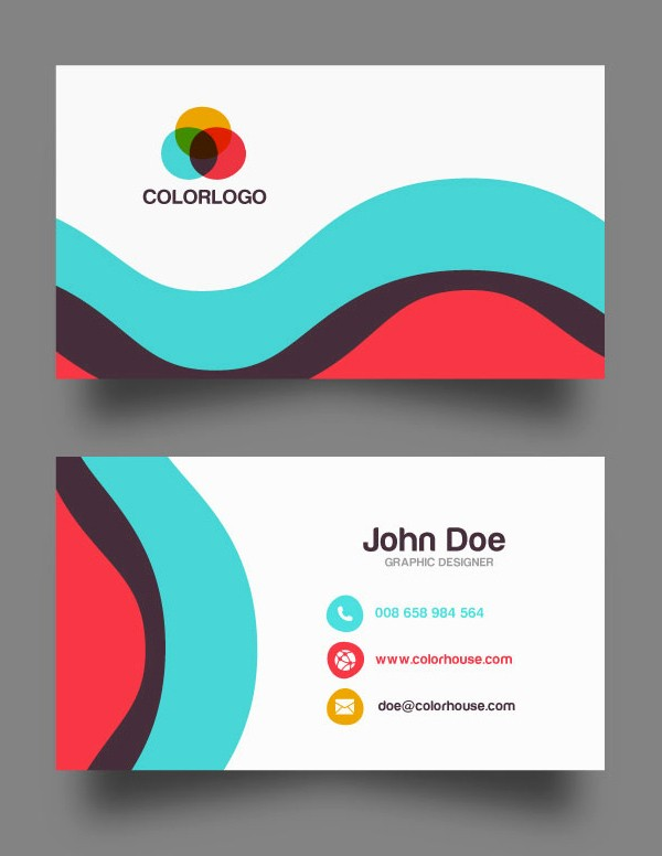 Calling Card Template Free Download Inspirational 30 Free Business Card Psd Templates & Mockups