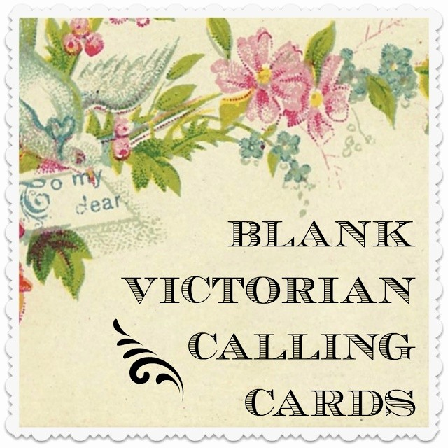 Calling Card Template Free Download Lovely Make Your Own Victorian Calling Card Free and