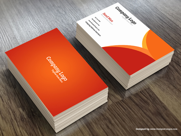 Calling Card Template Free Download Unique Creative Psd Business Card Template Free Download