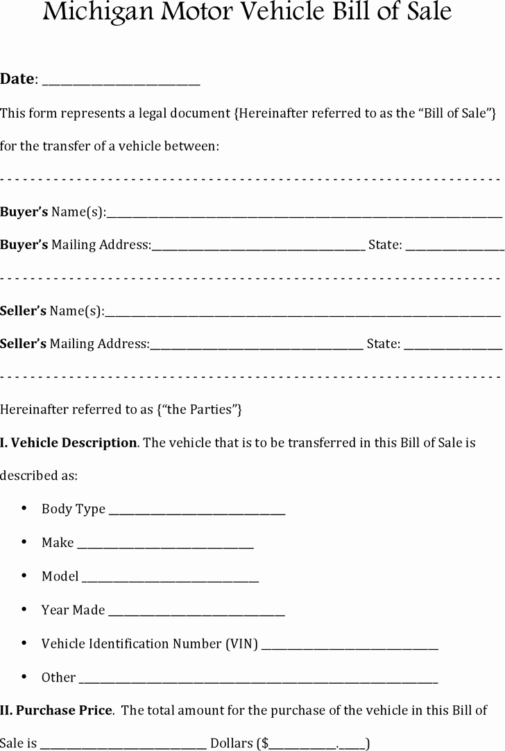 Car Sale as is form Beautiful Bill Of Sale Template Free Template Download Customize