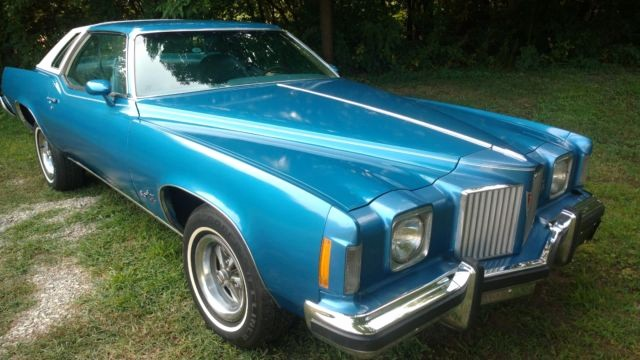 Cars Com Bill Of Sale Beautiful 1974 Pontiac Grand Prix Sj 455 Very original Survivor