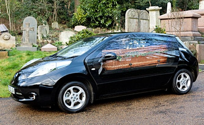 Cars Com Bill Of Sale Inspirational British Funeral Home Creates 'eco Hearse' with A Nissan Leaf