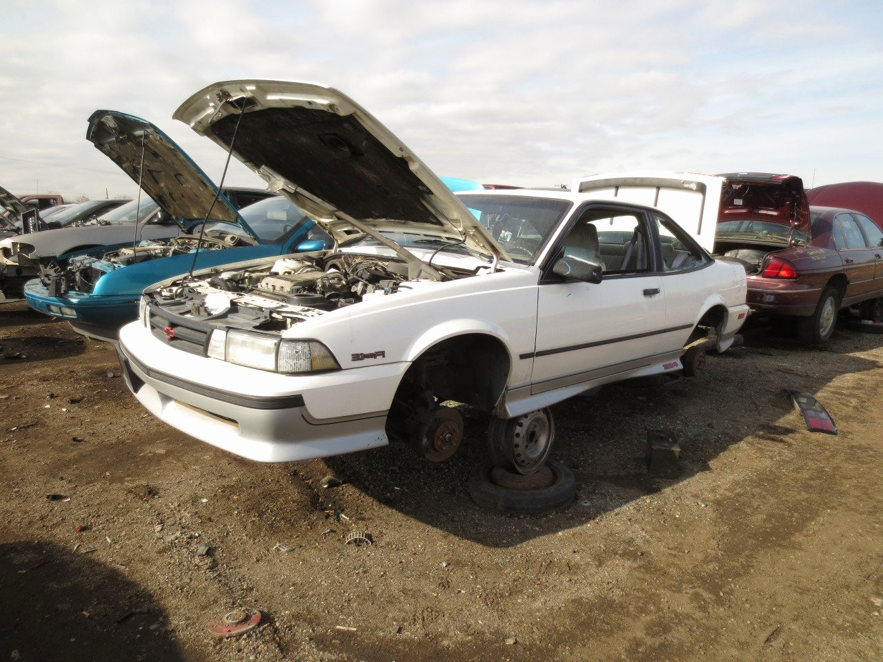 Cars Com Bill Of Sale New Junkyard Find 1990 Chevrolet Cavalier Z24 the Truth