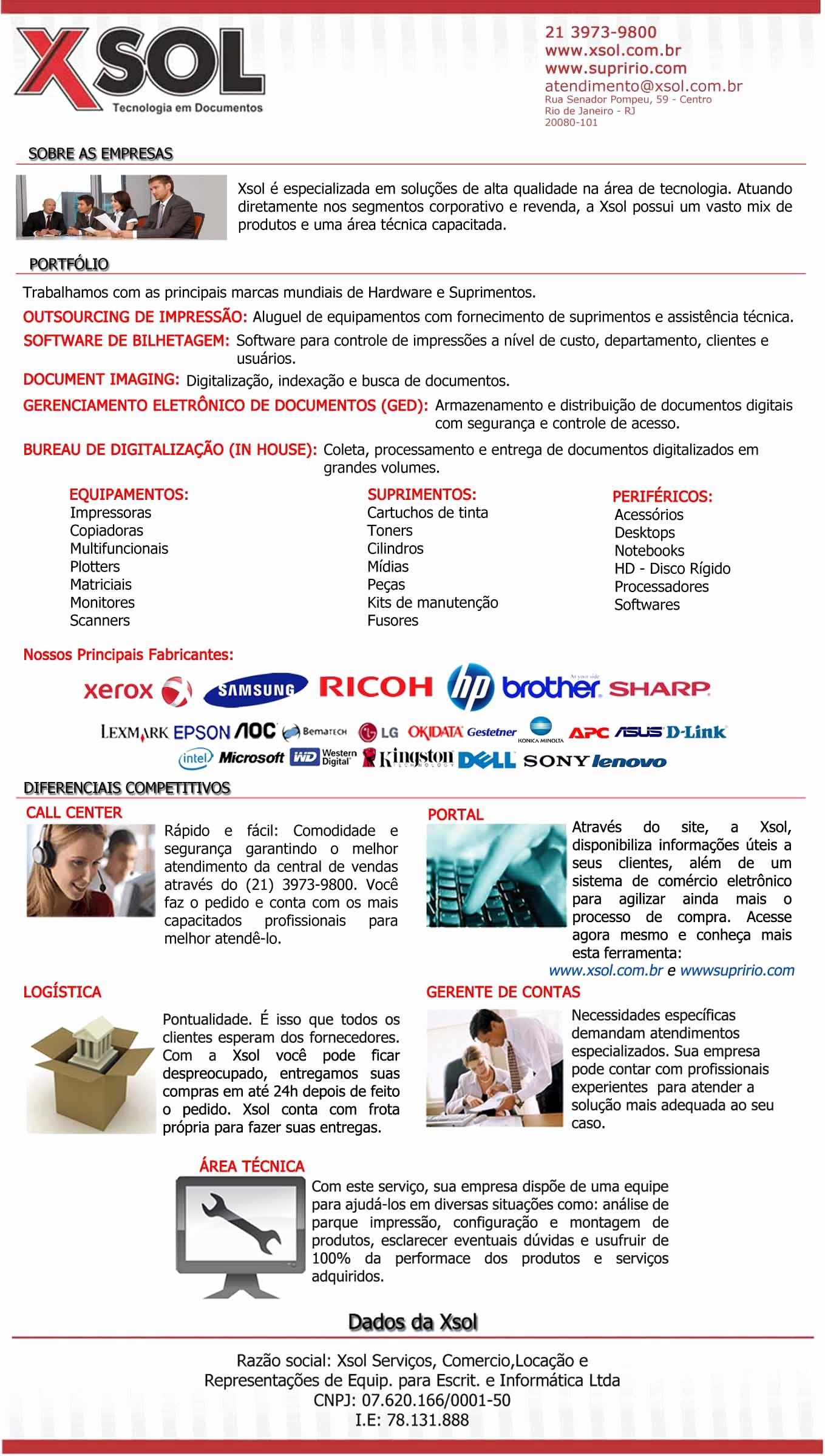 Carta De Apresentação De Empresa Inspirational Carta De Apresentação Da Xsol
