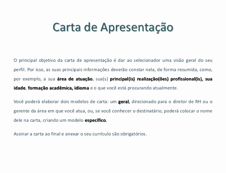Carta De Apresentação De Empresa Lovely Carta De Apresentação Para assistente Administrativo
