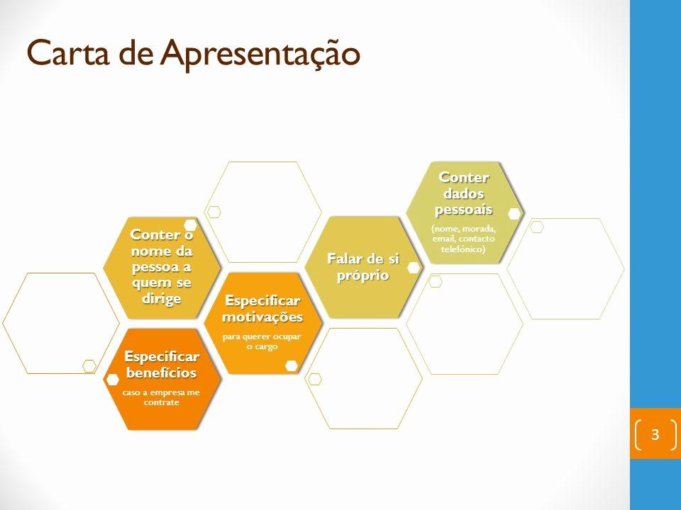 Carta De Apresentação De Empresa New Carta De Apresentação Ppt Carregar