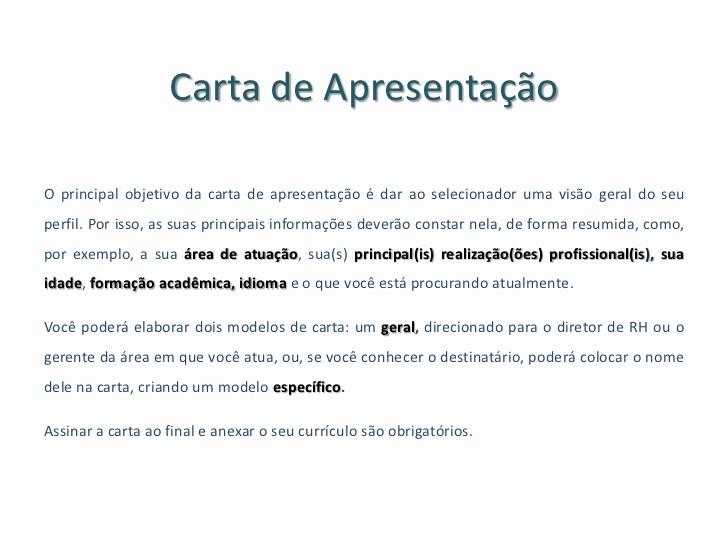 Carta De Apresentação De Empresa Unique Carta De Apresentação Para Currculos – Jotta Club