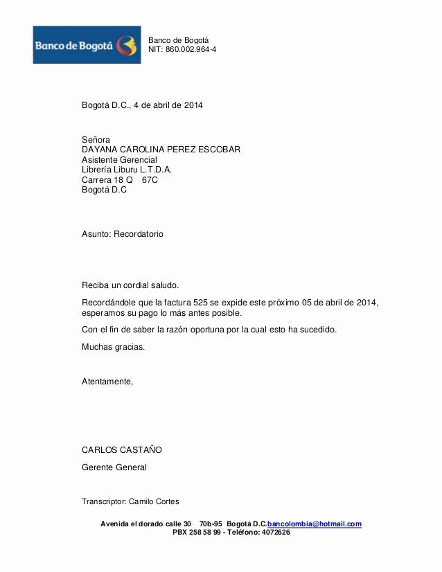 Carta De Cobro De Deuda Luxury Ejemplo Carta Profesional De Cobro Cartas Credito Cobro