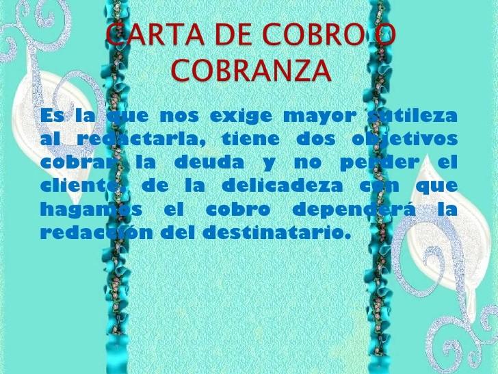 Carta De Cobro De Deuda New La Carta Ercial2011