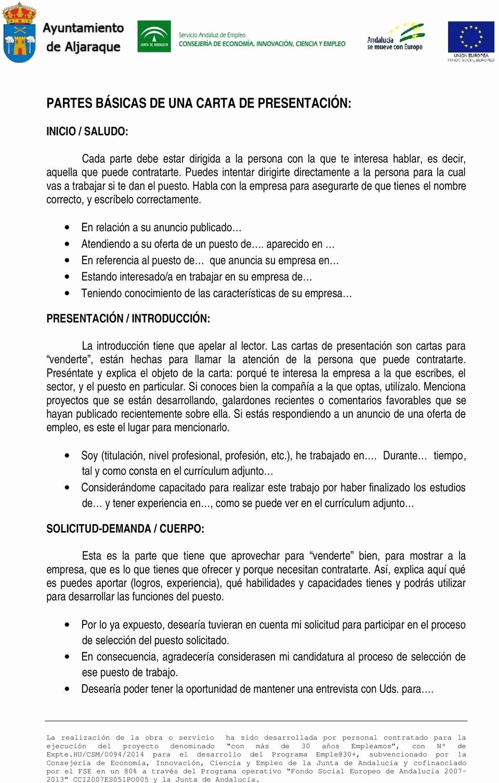 Carta De Oferta De Trabajo Beautiful 14 15 formato Oferta De Trabajo