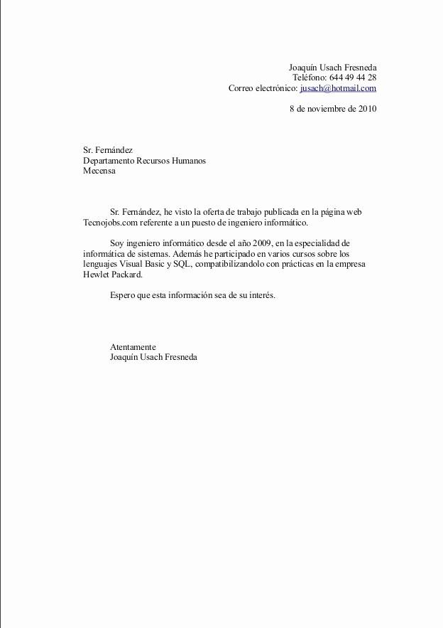 Carta De Oferta De Trabajo Beautiful Mipedazodeblog Erta De Trabajo Carta De Presentación Y