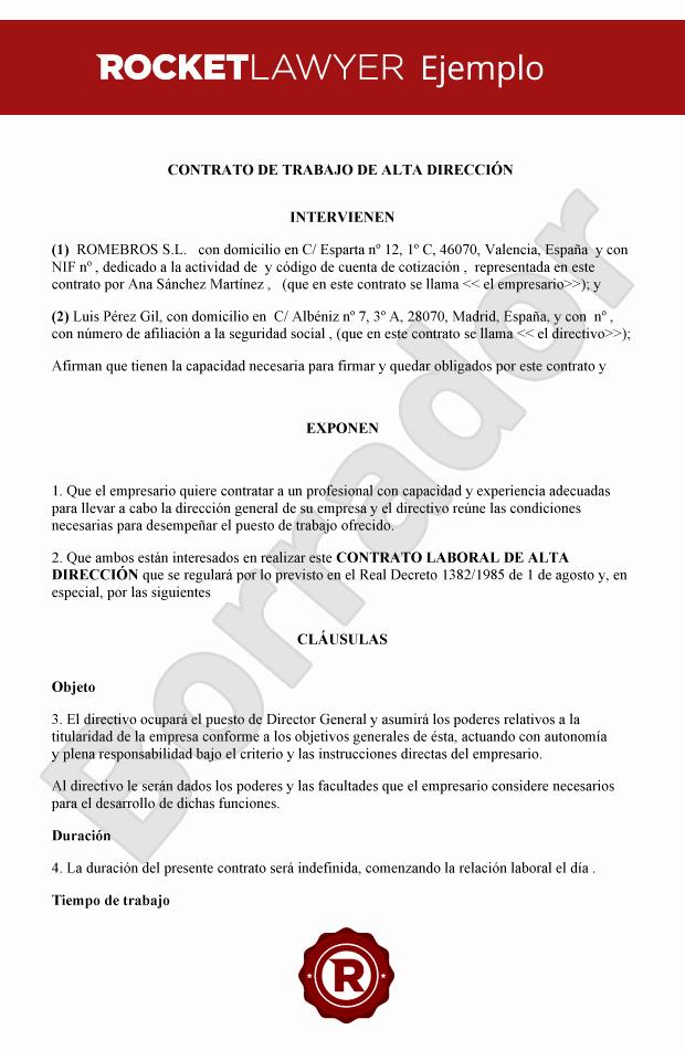 Carta De Oferta De Trabajo Best Of Ejemplo Contrato De Trabajo Temporal Mexico Ejemplo