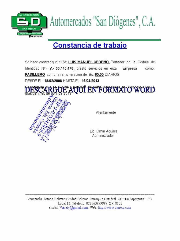 Carta De Oferta De Trabajo Best Of I'm Reading formato De Carta De Trabajo On Scribd