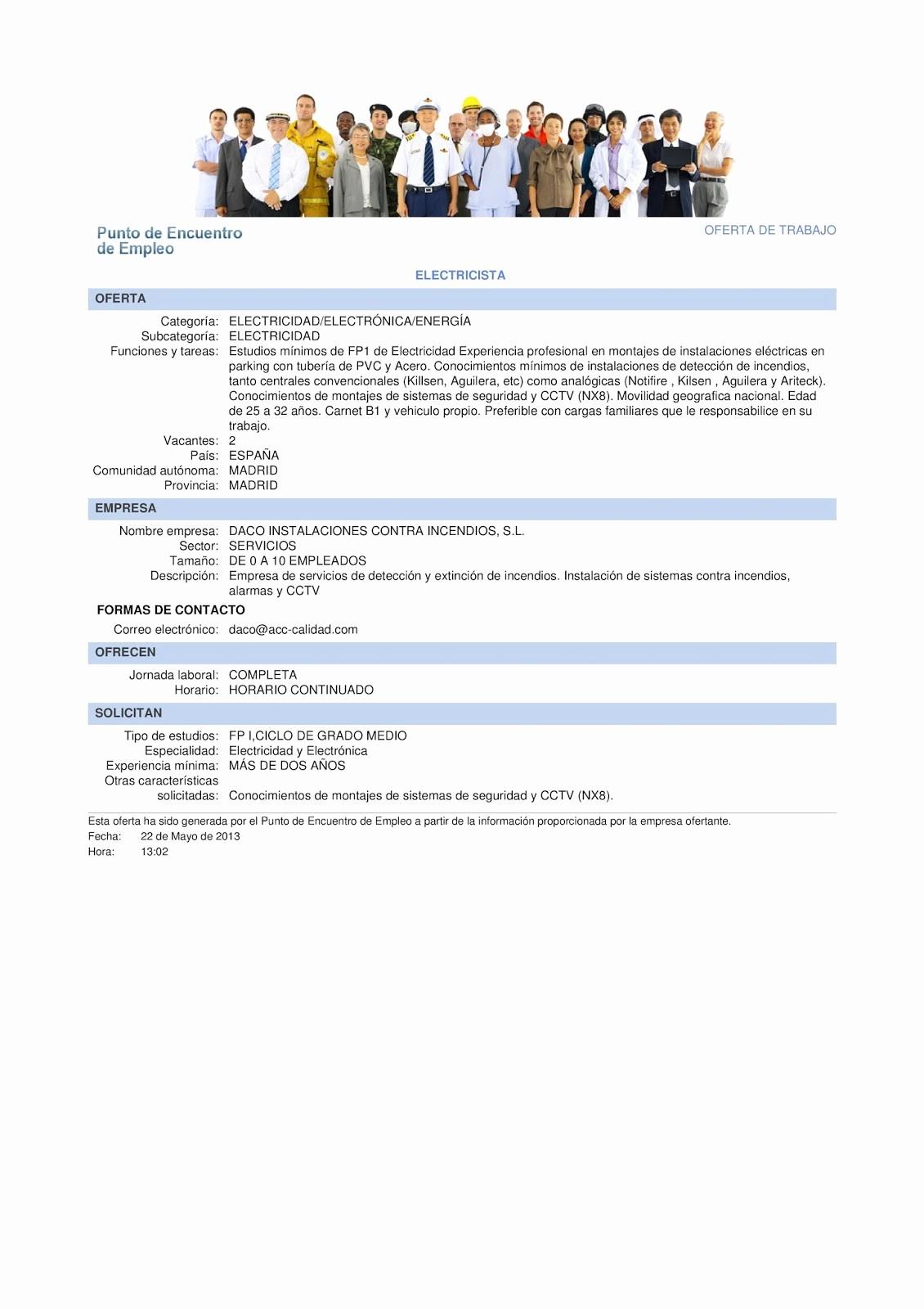 Carta De Oferta De Trabajo Lovely Mi Curriculum 5 Ofertas De Empleo Y Carta De Presentacion