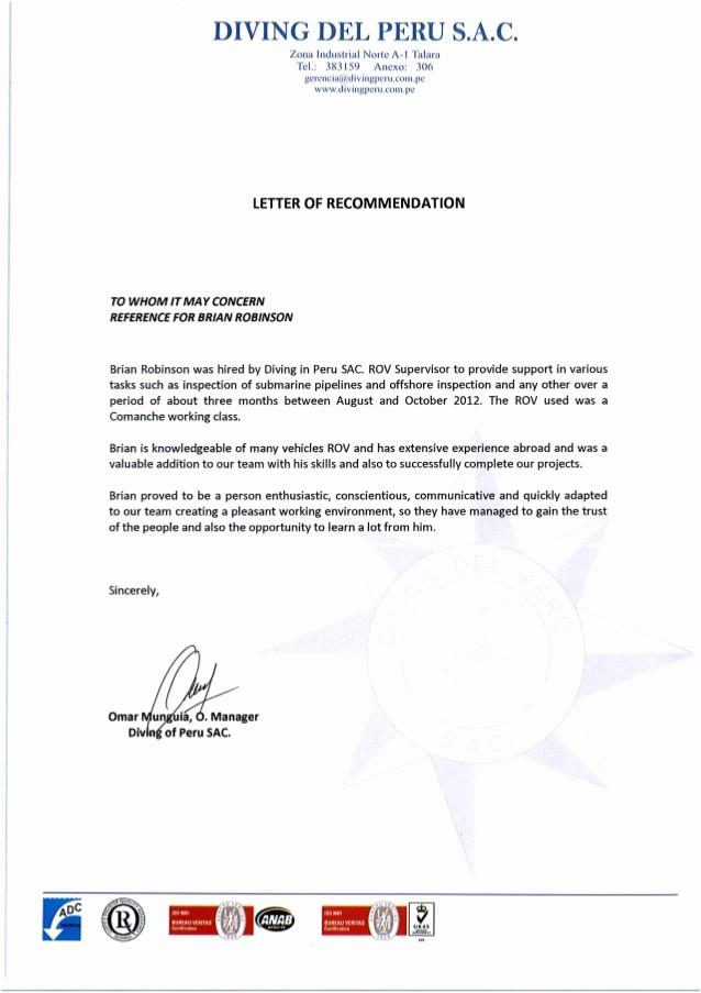 Carta De Recomendacion Laboral Pdf Awesome Carta Re Endacion 001 Pdf 1