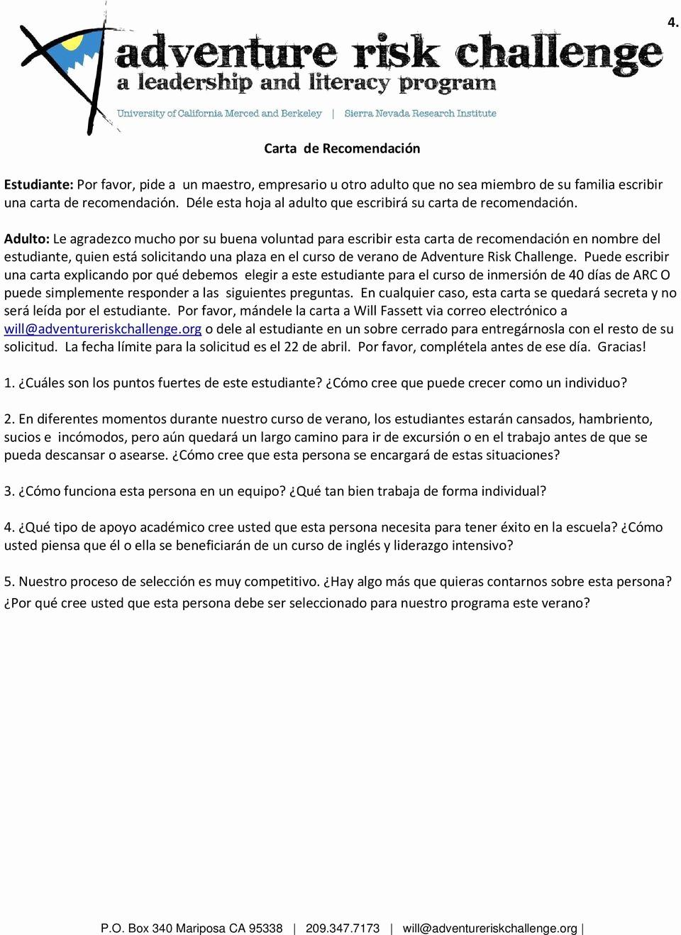 Carta De Recomendacion Para Estudiante Lovely Carta De Re Endacion Para Que Sirve Una Carta De
