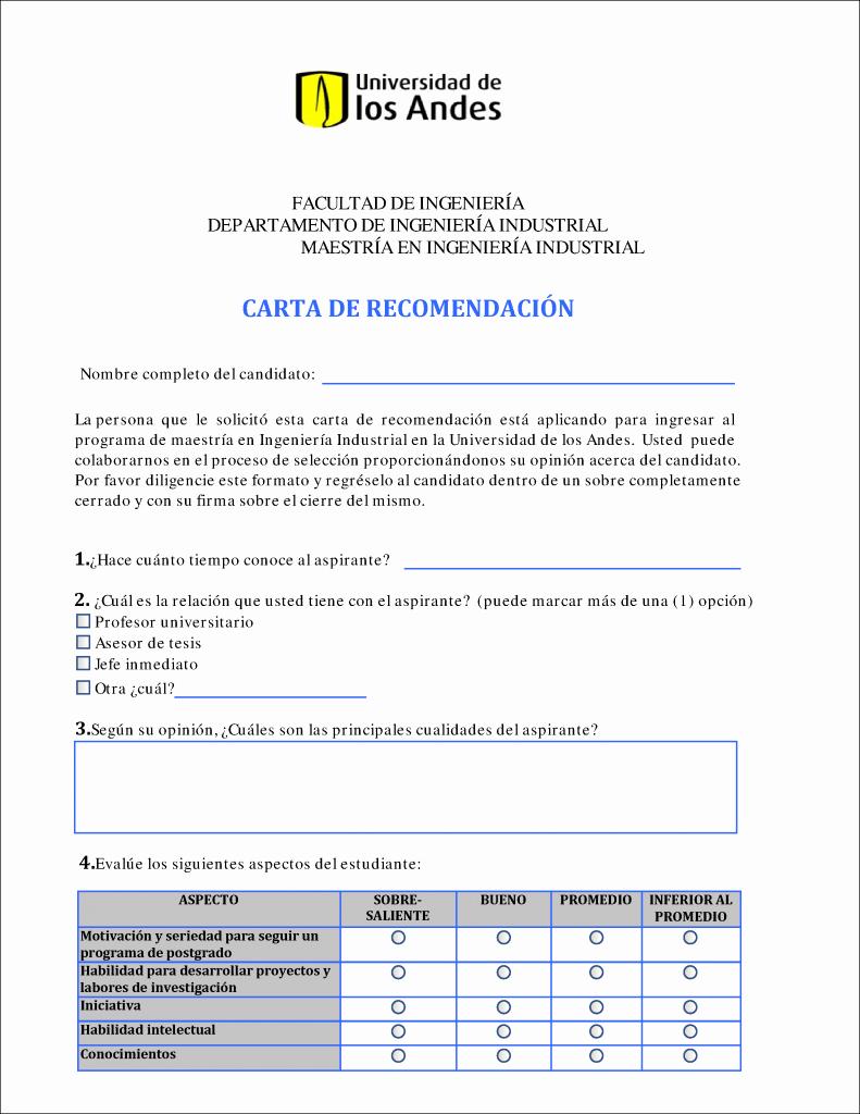 Carta De Recomendacion Para Estudiante Lovely Ejemplos De Cartas De Re Endacion