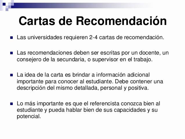 Carta De Recomendacion Para Estudiante Luxury Estudiando En Eeuu Oportunidades Para Alumnos Argentinos